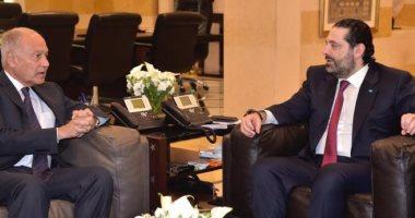 أبو الغيط يشدد على ضرورة الحفاظ على السلم الأهلى فى لبنان