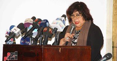 فيديو وصور.. وزيرة الثقافة: ننظم 110 فعاليات احتفالاً برئاسة مصر للاتحاد الأفريقى