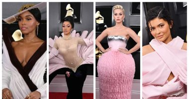 نجوم الغناء فى حفل Grammy.. أزياء غريبة وجوائز مستحقة