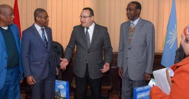 محافظ الإسكندرية يستقبل سفير غينيا لتوطيد العلاقات بين البلدين