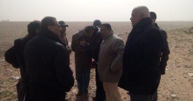 افتتاح وحدتين زراعيتين بالسلوم وبرانى وتنفيذ 27 بئرا لحصاد الأمطار بمطروح