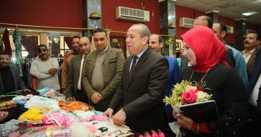 أسعار السلع بمعرض منتجات المشروع القومى للتنمية بكفر الشيخ