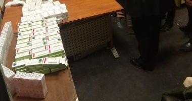 صور.. جمارك المطار تضبط كمية كبير من أدوية الإجهاض مع راكب قادم من أثينا