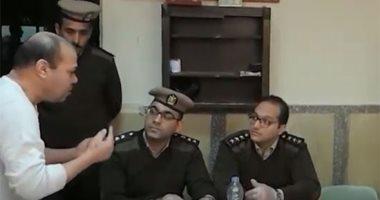 فيديو..حقوق الإنسان بالداخلية تجرى تفتيش مفاجىء على أقسام الشرطة