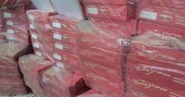 تموين الأقصر تضبط 900 علبة حلويات منتهية الصلاحية وتحرر 7 محاضر بالأسواق