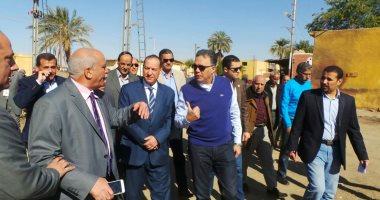 وزير النقل من أسوان: لا خصخصة للسكة الحديد