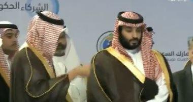 فيديو.. ولى العهد السعودى يدشن ميناء الملك عبد الله انسجاما مع رؤية 2030