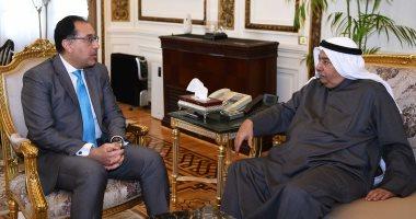 سفير الكويت يبلغ رئيس الوزراء رغبة مستثمر إقامة مشروع سياحى بالعلمين الجديدة