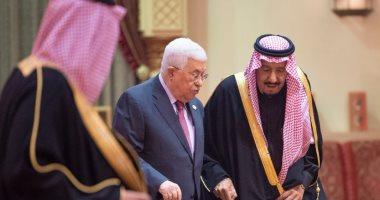 الملك سلمان يستقبل محمود عباس فى الرياض لبحث القضية الفلسطينية