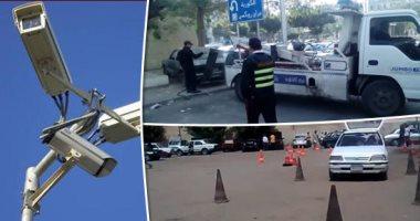 المرور: كاميرات مراقبة بمحيط أعمال تطوير كوبرى أكتوبر منعًا لزحام السيارات
