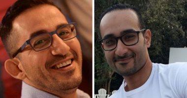 """نفس الشىء ولكنكم تحبون المشاهير.. باسم شبيه أحمد حلمى: """"حاسس انى قريب منه"""""""