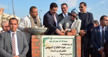 وزيرة البيئة: إقامة محطة لجمع القمامة بتكلفة 22 مليون جنيه فى القليوبية