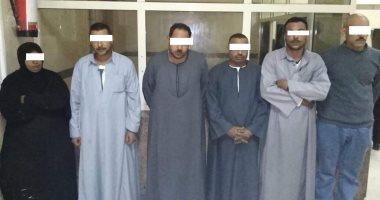 حبس 6 متهمين لاعتدائهم على موظفى حى المعصرة أثناء حملة إزالة