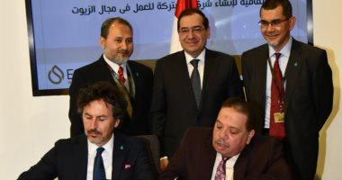 وزير البترول يوقع مذكرات تفاهم وتعاون مشترك مع شركات بترول دولية