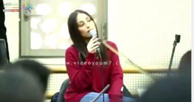 فيديو.. هبة طوجى فى البروفات النهائية استعدادا لحفلها بالقاهرة غدا
