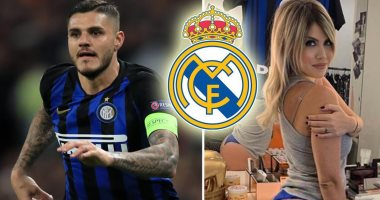 ريال مدريد يتراجع عن ضم إيكاردى بسبب زوجته