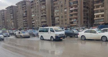 كسر ماسورة مياه يتسبب فى ميل 6 عقارات وسط الإسكندرية وإخلاء فورى للسكان