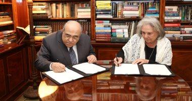 مكتبة الإسكندرية توقع اتفاقا للحصول على كتب محمد حسنين هيكل