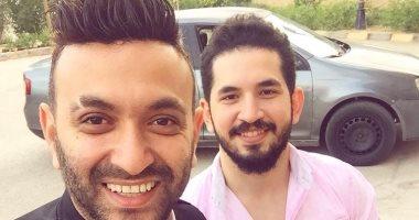 الأخوان عمرو وأحمد الشاذلى يتعاونان فى أغنية بألبوم كريم محسن الجديد