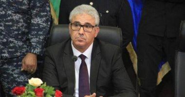وزير الداخلية فى حكومة الوفاق فتحى باشاغا