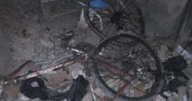 """صور.. """"اليوم السابع"""" بموقع انفجار """"الدرب الأحمر"""".. تهشم واجهات 5 محال تجارية"""
