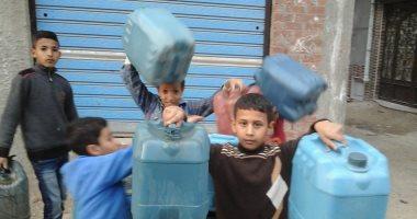 قارئ يشكو من انقطاع مياه الشرب عن مجاورة 8 فى حلوان