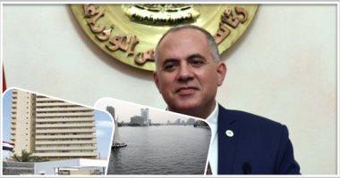 وزير الرى يوجه بحصر المساكن المخالفة المتأثرة بارتفاع منسوب المياه واتخاذ إجراء بشأنها