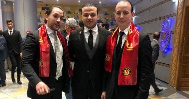 صور.. الأهلي يلبي دعوة الترجي التونسي في احتفالات المئوية
