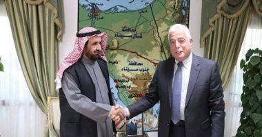 محافظ جنوب سيناء يلتقى رئيس الاتحاد العربى لرياضة سباقات الهجن