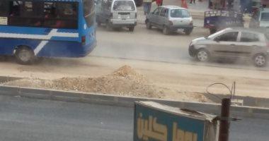 قارئة تشكو أنقطاع المياه والفوضى المرورية واتلاف الرصف بشارع مصطفى النحاس بمحافظة القاهرة