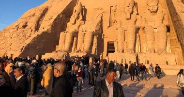 تعامد الشمس بمعبد أبو سمبل - أرشيفية