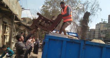 أهالى منطقة أكشاك أبوالسعود بمصر القديمة سعداء بالنقل للأسمرات وبدر