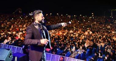 تامر حسنى يشكر جمهوره فى السعودية بعد إحيائه 3 حفلات.. ماذا قال؟