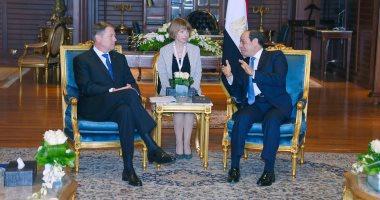 بسام راضى: الرئيس السيسي يتلقى دعوة من نظيره الرومانى لزيارة بلاده