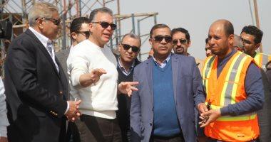 وزير النقل يتابع أعمال تنفيذ محور سمالوط على النيل بتكلفة إجمالية 1.450 مليار جنيه