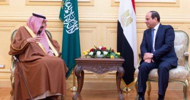 الرئيس عبد الفتاح السيسى وخادم الحرمين الشريفين الملك سلمان بن عبدالعزيز (أرشيفية)