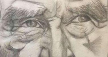 قارئ يشارك بصور توضح موهبة ابنه فى الرسم.. ويؤكد: عبد الله عمره 10 سنوات