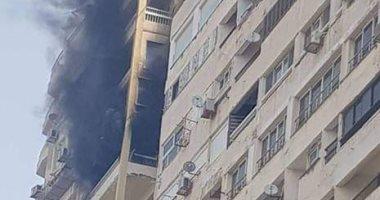 النيابة تستعجل تقرير الأدلة الجنائية لحريق عقار فى القطامية