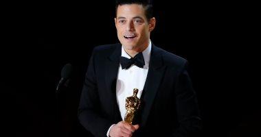 المصرى رامى مالك يفوز بأوسكار أفضل ممثل عن فيلم Bohemian Rhapsody