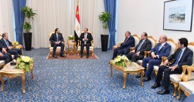 السيسى يجدد موقف مصر الداعى إلى النأى بلبنان عن النزاعات الإقليمية