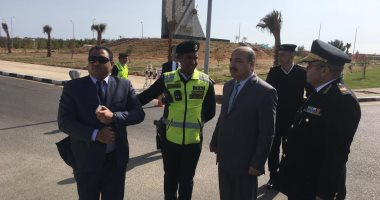 مدير المرور يتفقد الطرق الرابطة بين المحافظات لتأمين الرحلات