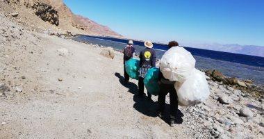 البيئة تنظم حملة نظافة بمحمية أبو جالوم للتوعية بأهمية المحميات الطبيعية