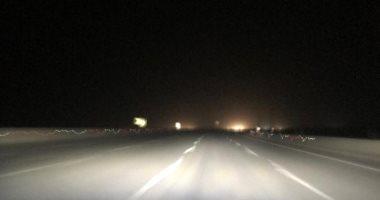 غلق طريق الفرافرة – الواحات البحرية لسوء الأحوال الجوية