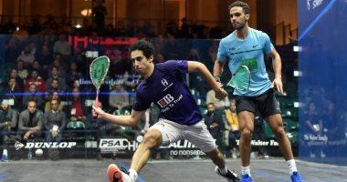 طارق مؤمن يتأهل إلى نصف نهائي بطولة CIB للاسكواش