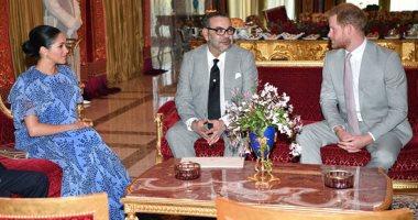 اعرف سعر وتصميم فستان ميجان ماركل خلال لقائها بالعاهل المغربى × 15 صورة