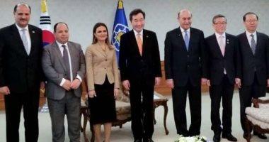 مميش: قناة السويس منطقة واعدة ونتطلع للتعاون مع كوريا فى المشروعات الصغيرة
