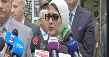 وزيرة الصحة: فتح تحقيق عاجل فى وفاة طبيب مستشفى المنيرة بسبب كورونا