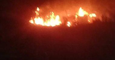قارئ يشارك بصور لحريق بمصنع فخار فى مصر القديمة
