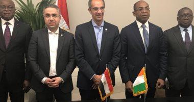 عمرو طلعت يلتقى بوزير الاقتصاد الرقمى بكوت ديفوار ويبحث مع شركات عالمية زيادة الاستثمار