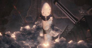 """بث مباشر.. ناسا تطلق مركبة """"سبيس إكس دراجون"""" لمحطة الفضاء الدولية"""